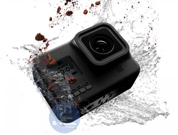 Gopro Hero 8 Black chống nước trực tiếp