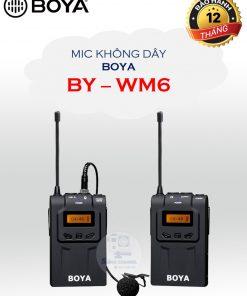 BY-WM6 gồm 2 cục thu và phát