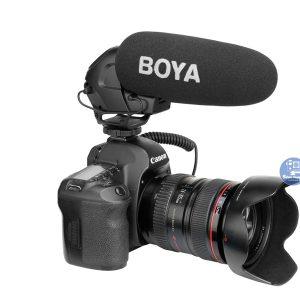 Microphone Shotgun BOYA BY-BM3030 dùng cho điện thoại, máy ảnh, máy quay phim