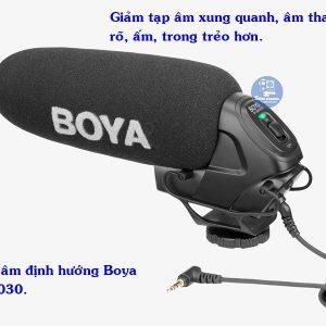 Microphone Shotgun BOYA BY-BM3030