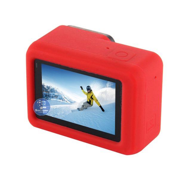 Case Silicon bảo vệ cho GoPro Hero 5, 6, 7 Black màu đỏ