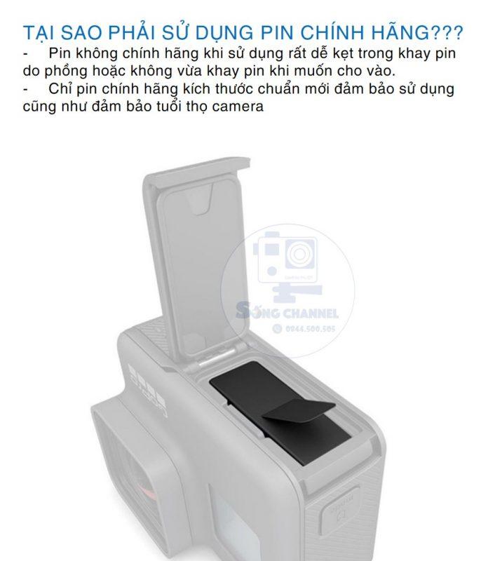 Pin Gopro Chính Hãng
