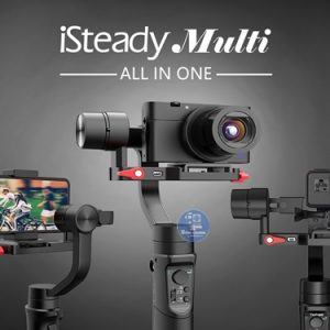 Gimbal iSteady mutil all in one dùng cho máy ảnh compact, smarth phone, action camera