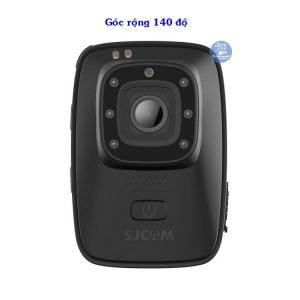 Body camera Sjcam A10 có góc rộng 140 độ
