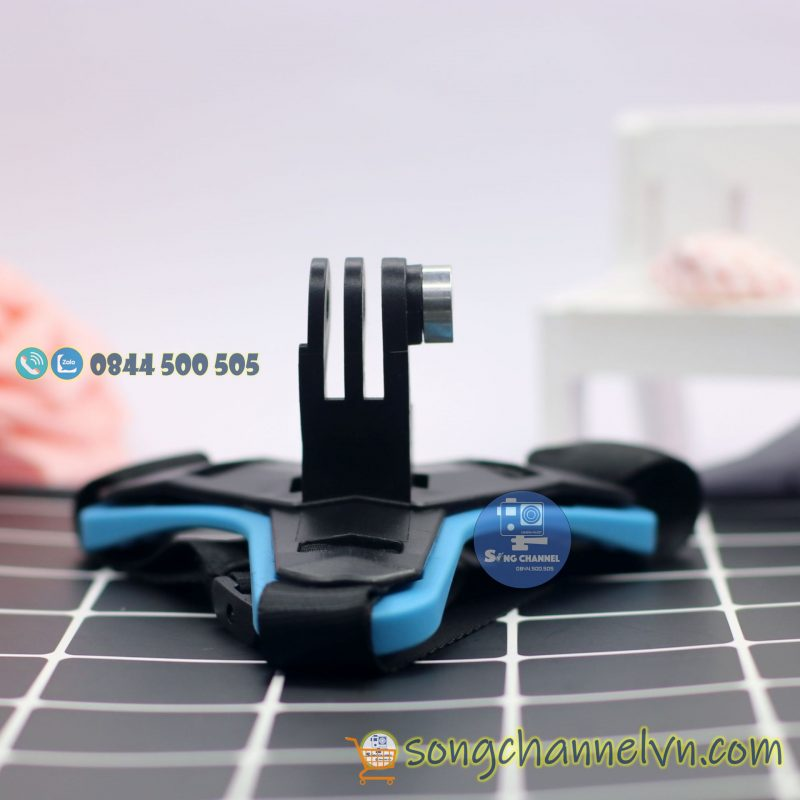 Dây đeo gắn được nhiều dòng action camera như gopro, sjcam, eken, sc-1. sc-2..