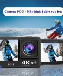 Camera SC-3 - Action camera hành động tốt nhất phân khúc giá